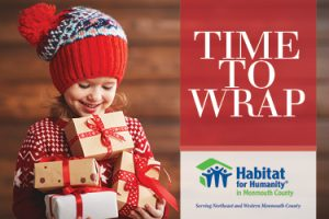 Volunteer With Us At Our 2019 Holiday Gift Wrap Stations Habitat For Humanity In Monmouth County